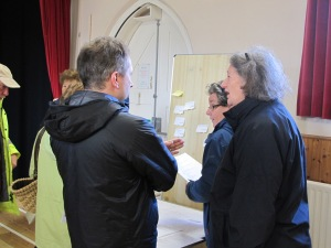 Community consultation in Kingsand Village hall