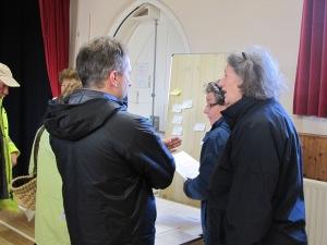 Community consultation in Kingsand Village hall